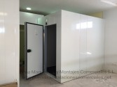 Cámaras frigoríficas con suelo