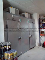 Camaras frigorificas mixtas con equipos de techo